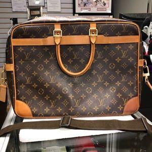 Louis Vuitton Briefcase Monogram Voyage Bag